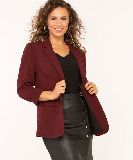 Mulberry Ottoman Blazer, Mulberry, hi-res