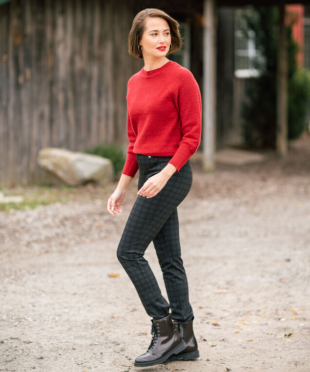 Ruby Raglan Sweater Look,