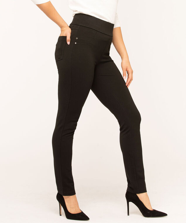 Black Back Pocket Legging, Black