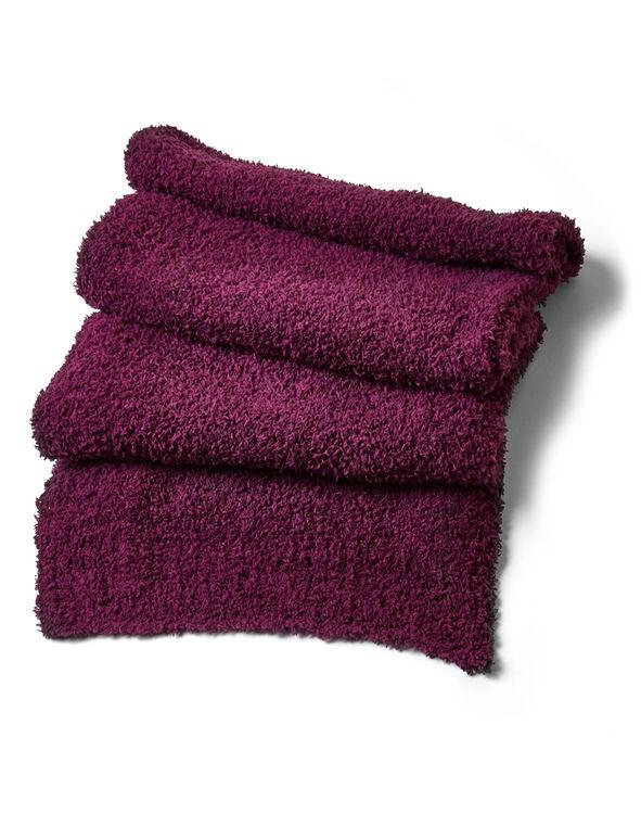 Sangria Cozy Knit Scarf, Sangria, hi-res
