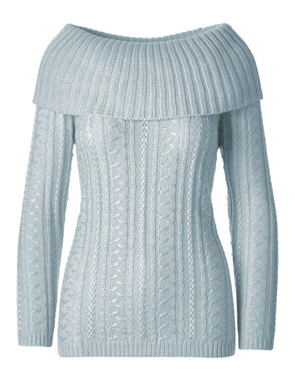 Cloud Marilyn Novelty Sweater, Cloud, hi-res