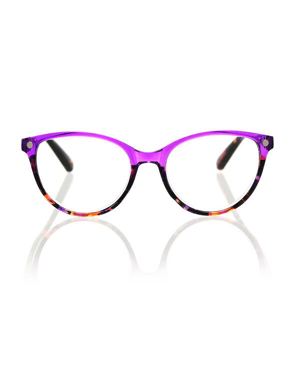Transparent Purple Reader, Purple, hi-res