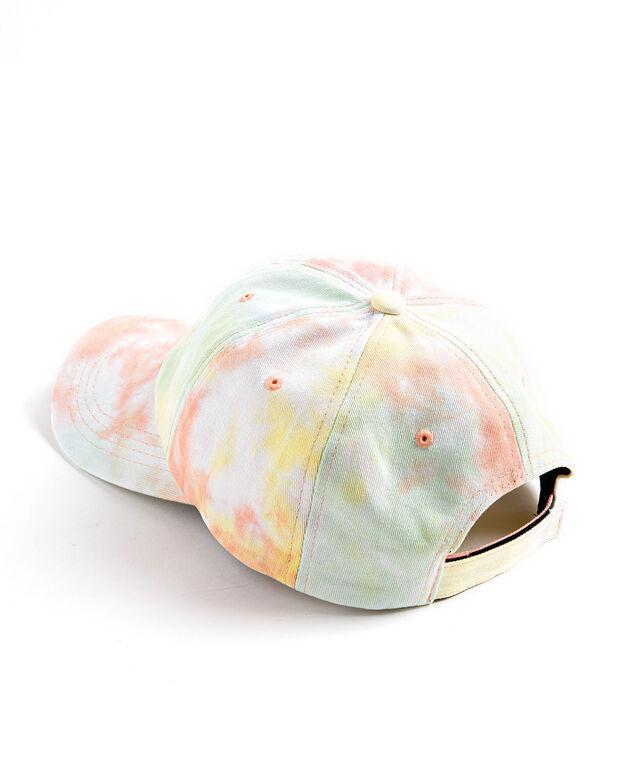 Tie-Dye Baseball Cap, Yellow