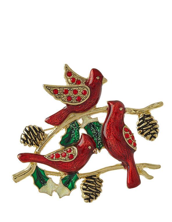 Cardinal Pin, Red, hi-res