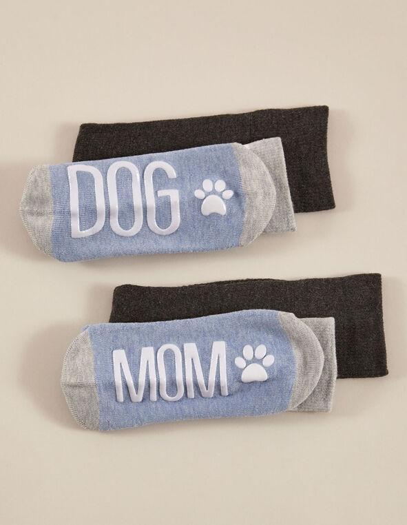 Chambray & Grey Sock Pack, Blue/Grey, hi-res