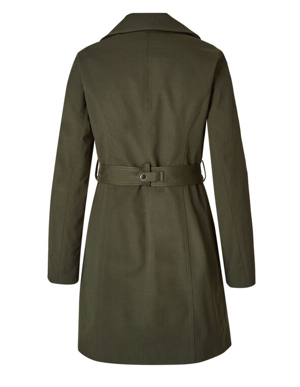 Olive Trench Coat, Olive, hi-res