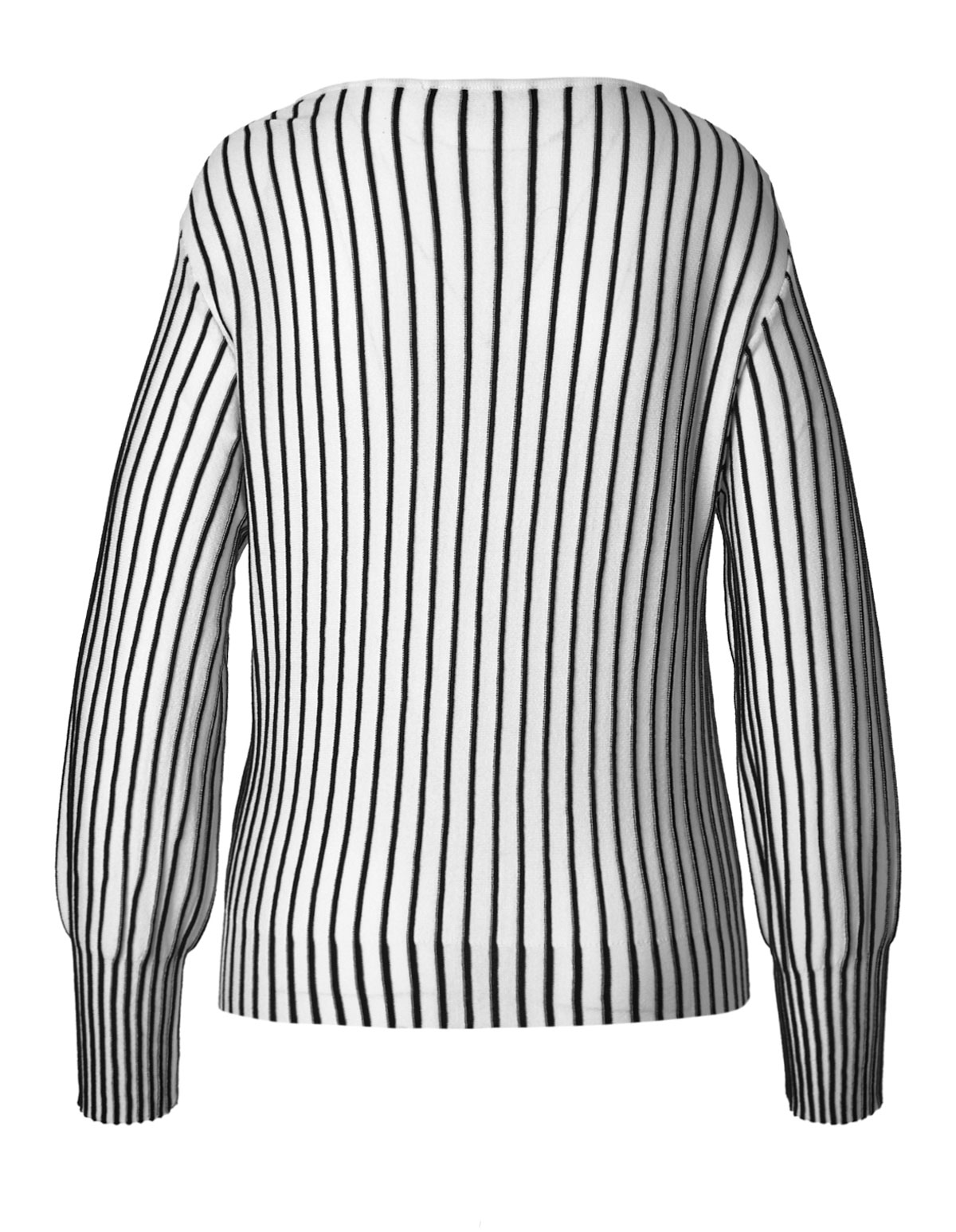 ecfc7ab1f5 ... Black   White Striped Pullover Sweater