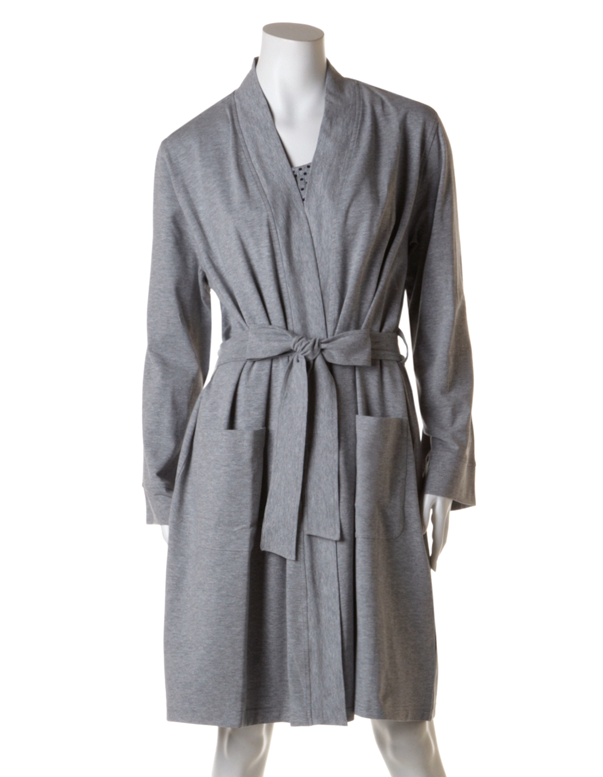 cheap sale elegant and graceful high quality guarantee Light Grey Robe | Cleo