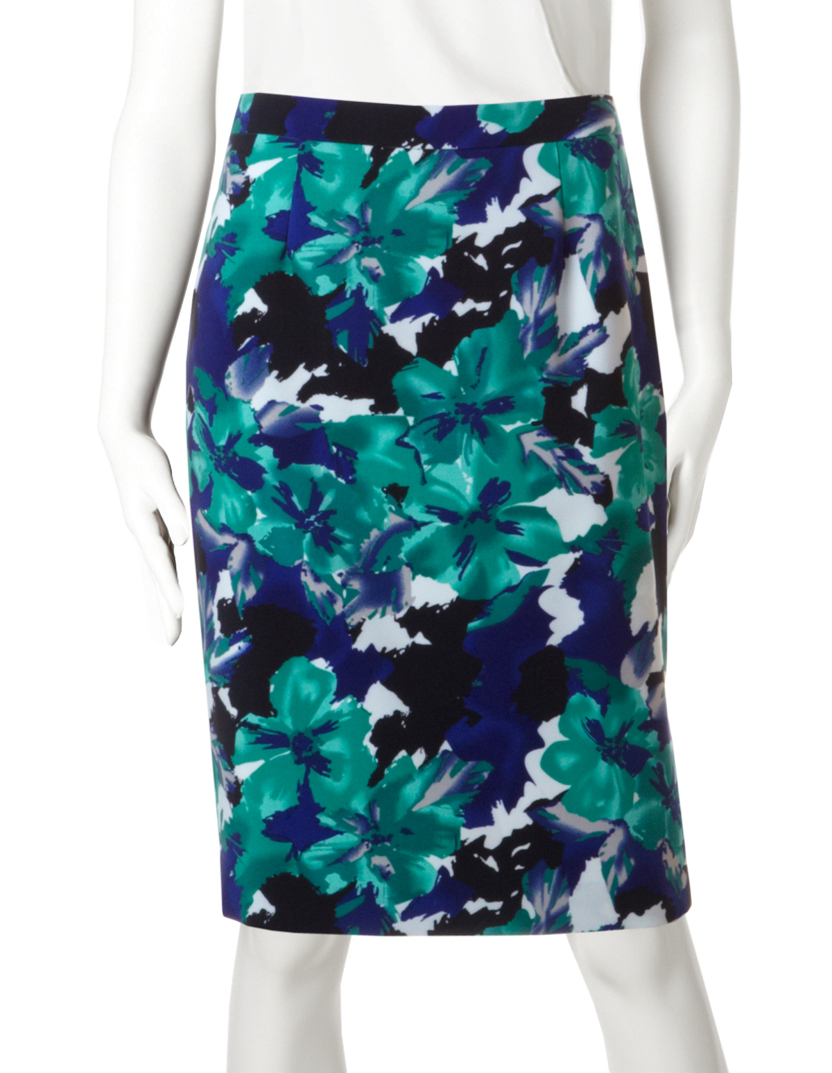 Navy short blue pencil skirt forecast to wear for on every day in 2019