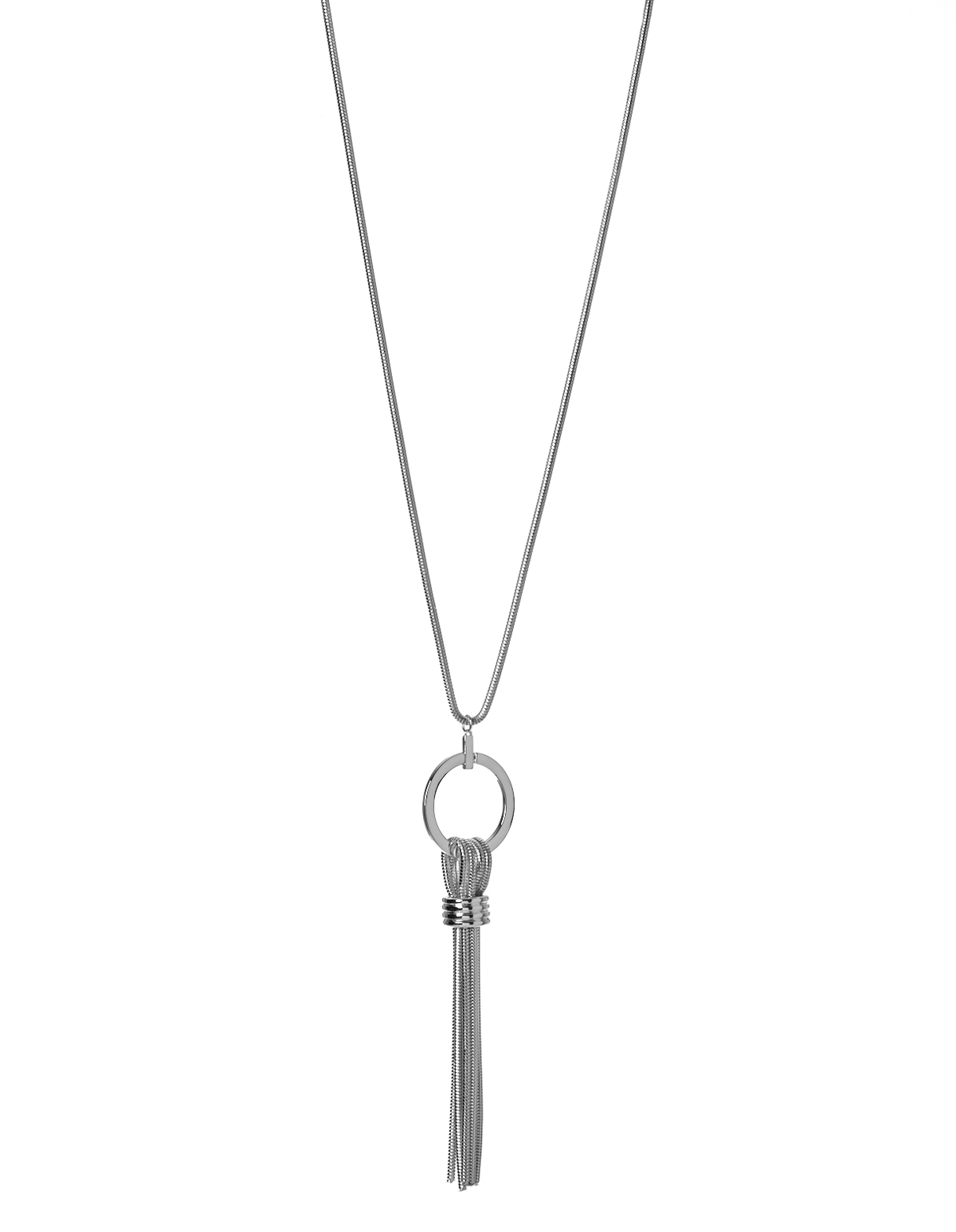 Long tassel pendant necklace cleo long tassel pendant necklace silver hi res aloadofball Image collections
