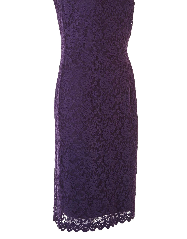 bbf63b7ade7 Purple Haze Lace Shift Dress | Cleo