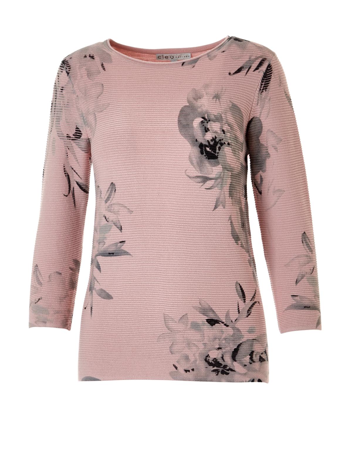Soft Pink Ottoman Sweater | Cleo