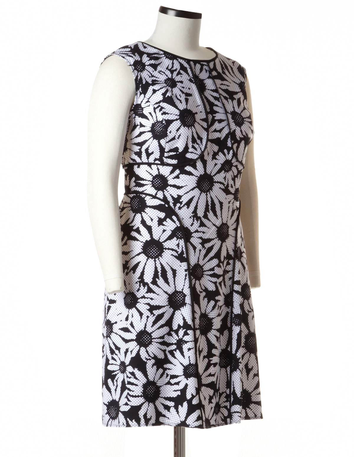 Plus Size Daisy Fit And Flare Dress Cleo