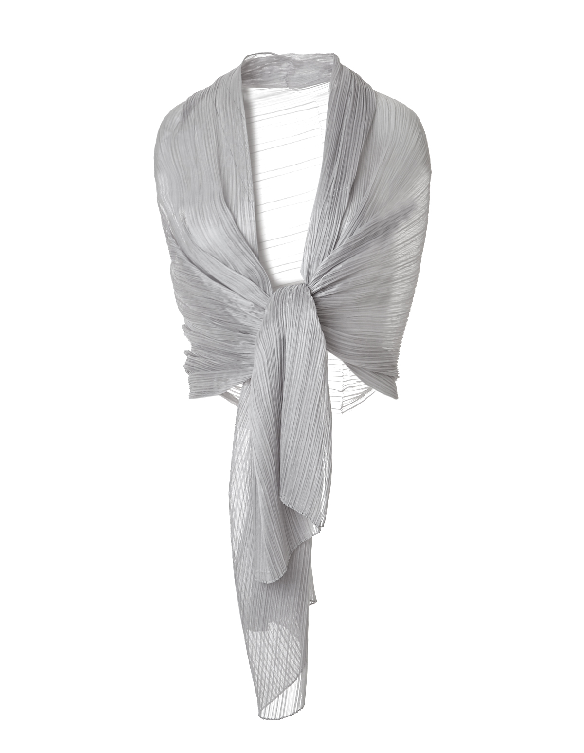 silver pleated dress shawl cleo Silver Shawls for Dresses silver pleated dress shawl silver hi res
