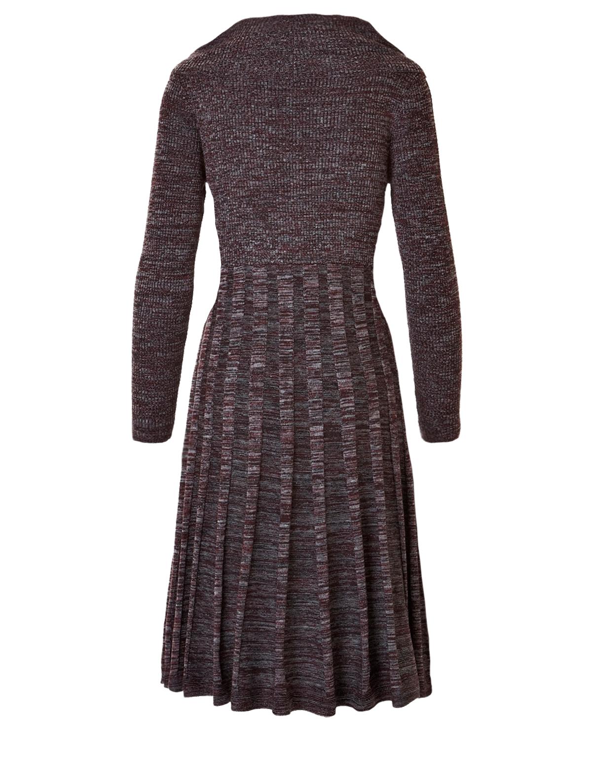 Garnet Cowl Neck Sweater Dress | Cleo