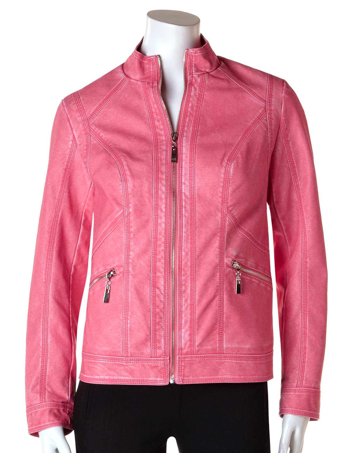 Womens pleather jacket
