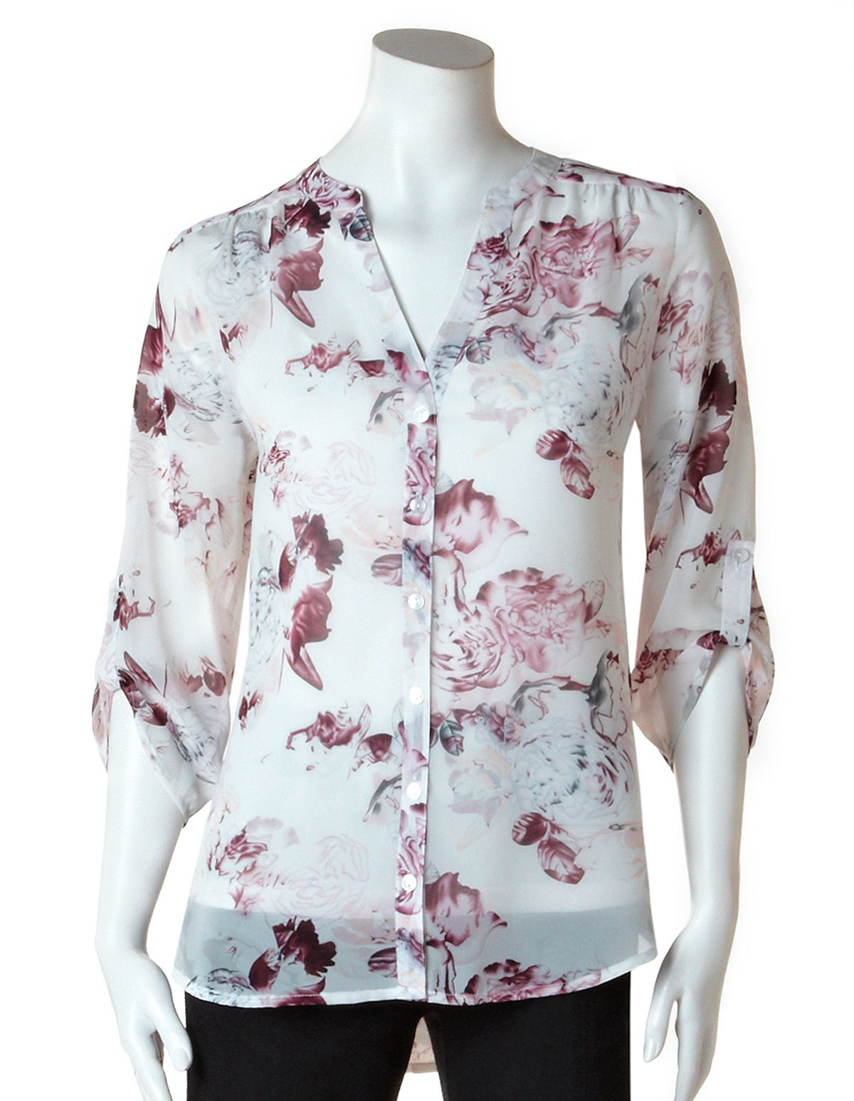 The latest collection of women's blouses include plain blue or white blouses as well as pieces with unique prints. Pick out your favourite for a perfect evening, office or casual look. Short or long sleeved blouses to give your look a touch of elegance.