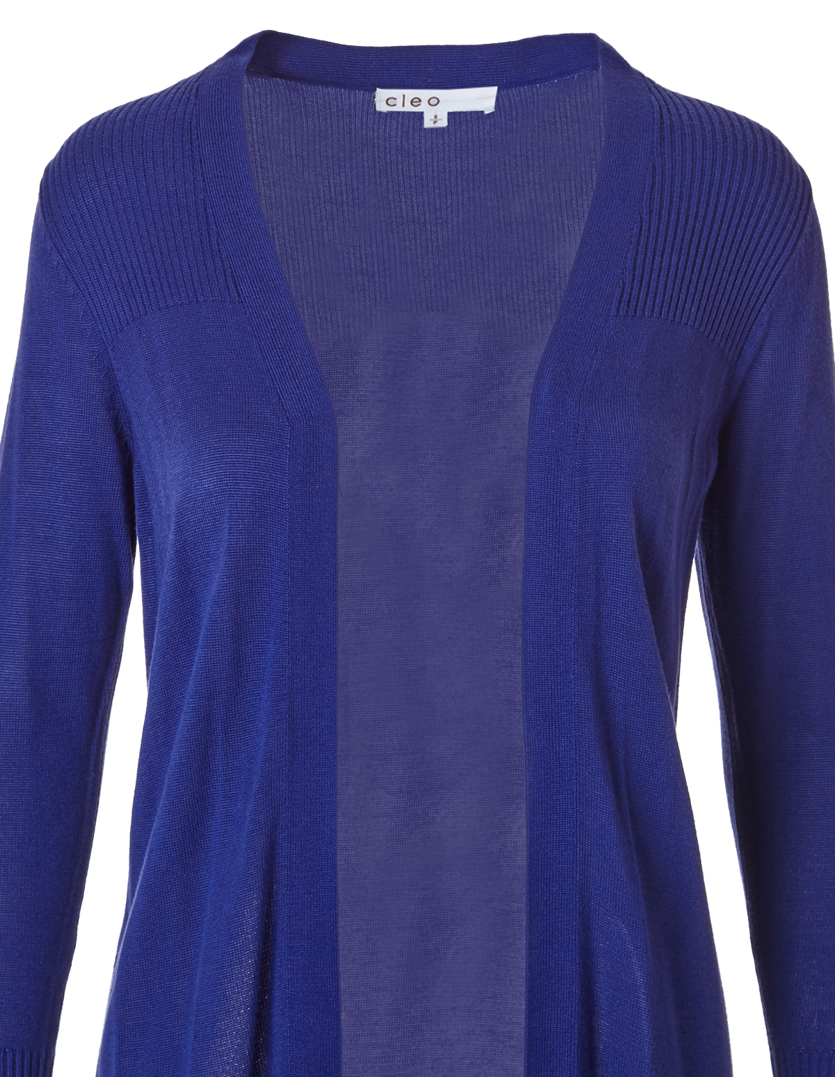 Royal Blue Cardigan Sweater | Cleo