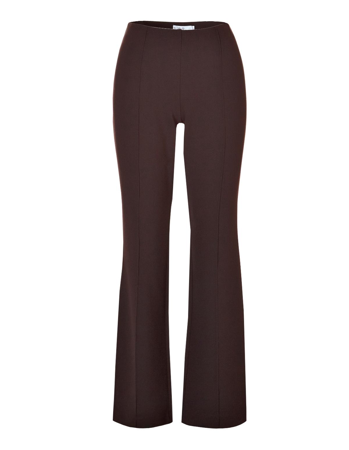 9d513b6e Brown Boot Leg Trouser Pant | Cleo