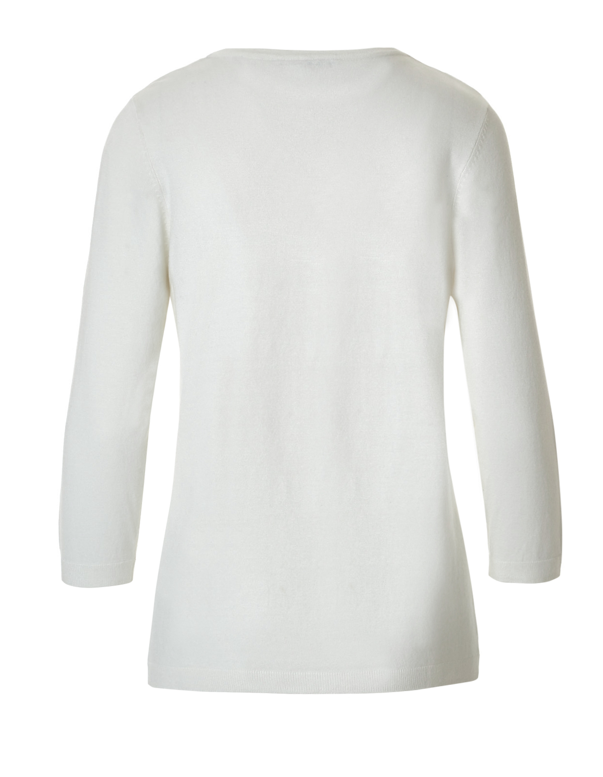 Ivory Pullover Sweater | Cleo