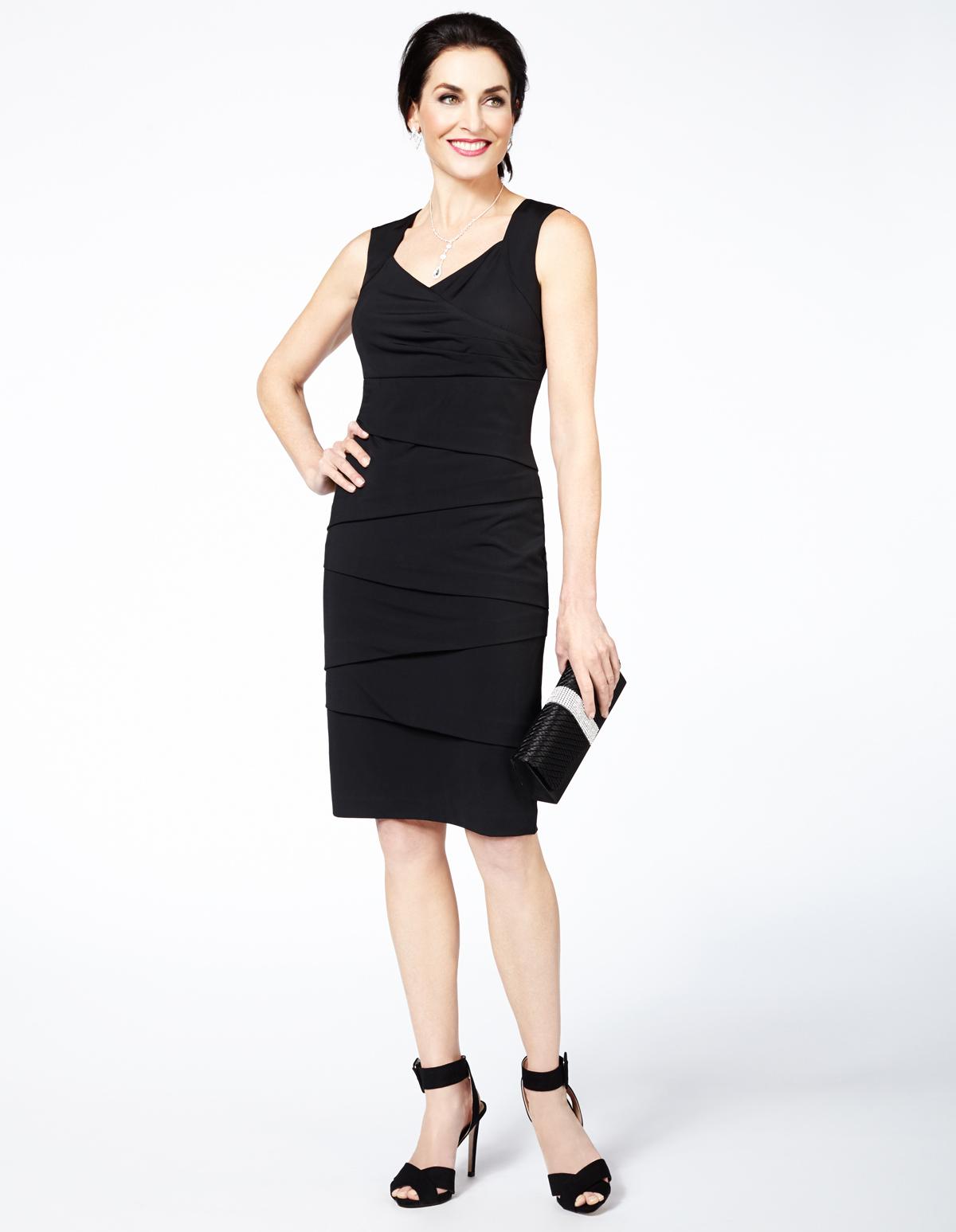 169df1af34d1 Black Rumba Dress, Black, hi-res ...
