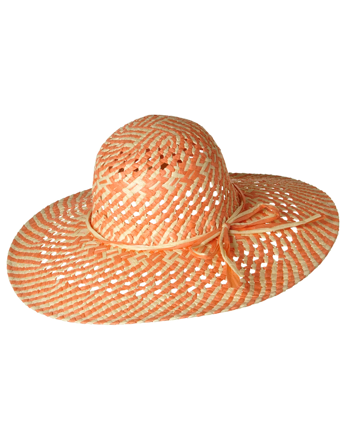 Coral Straw Sun Hat  849d0711c66