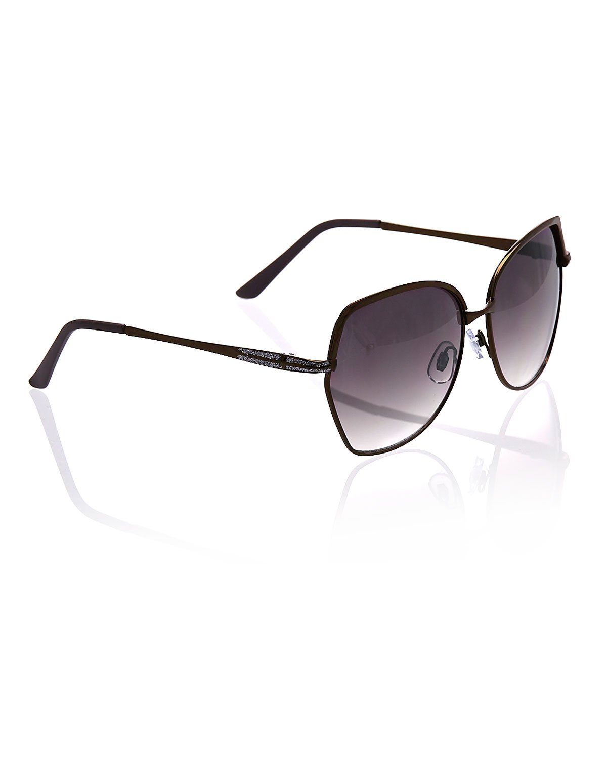 Brown Metal Frame Sunglasses | Cleo