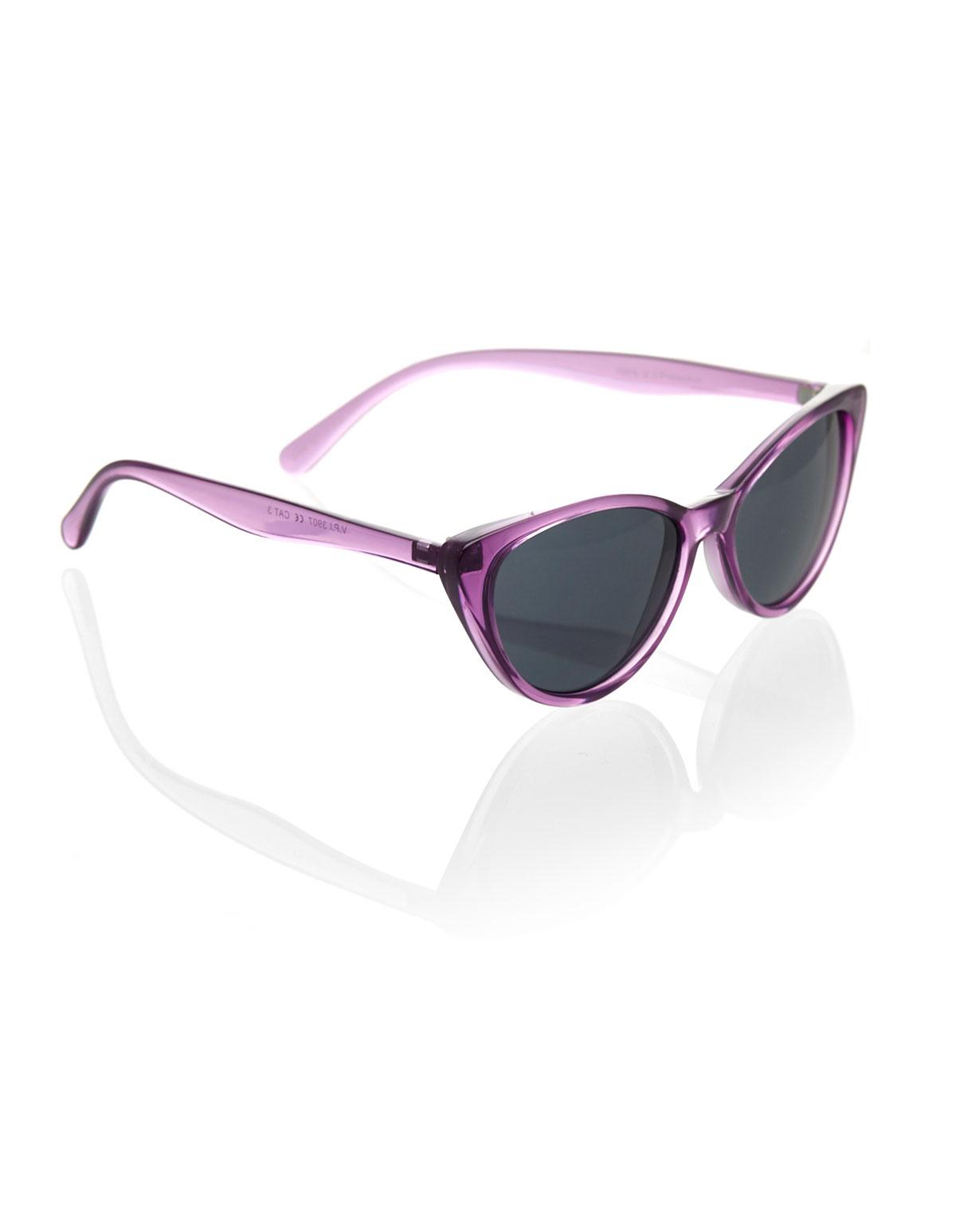 Purple Cat Eye Sunglasses Cleo