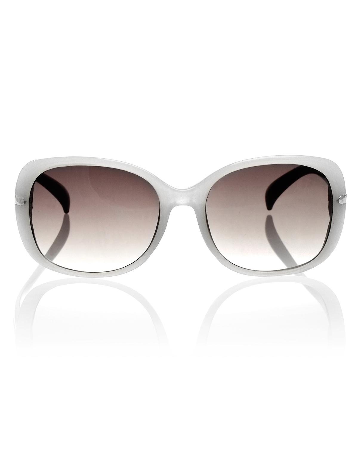 White Frame Sunglasses | Cleo