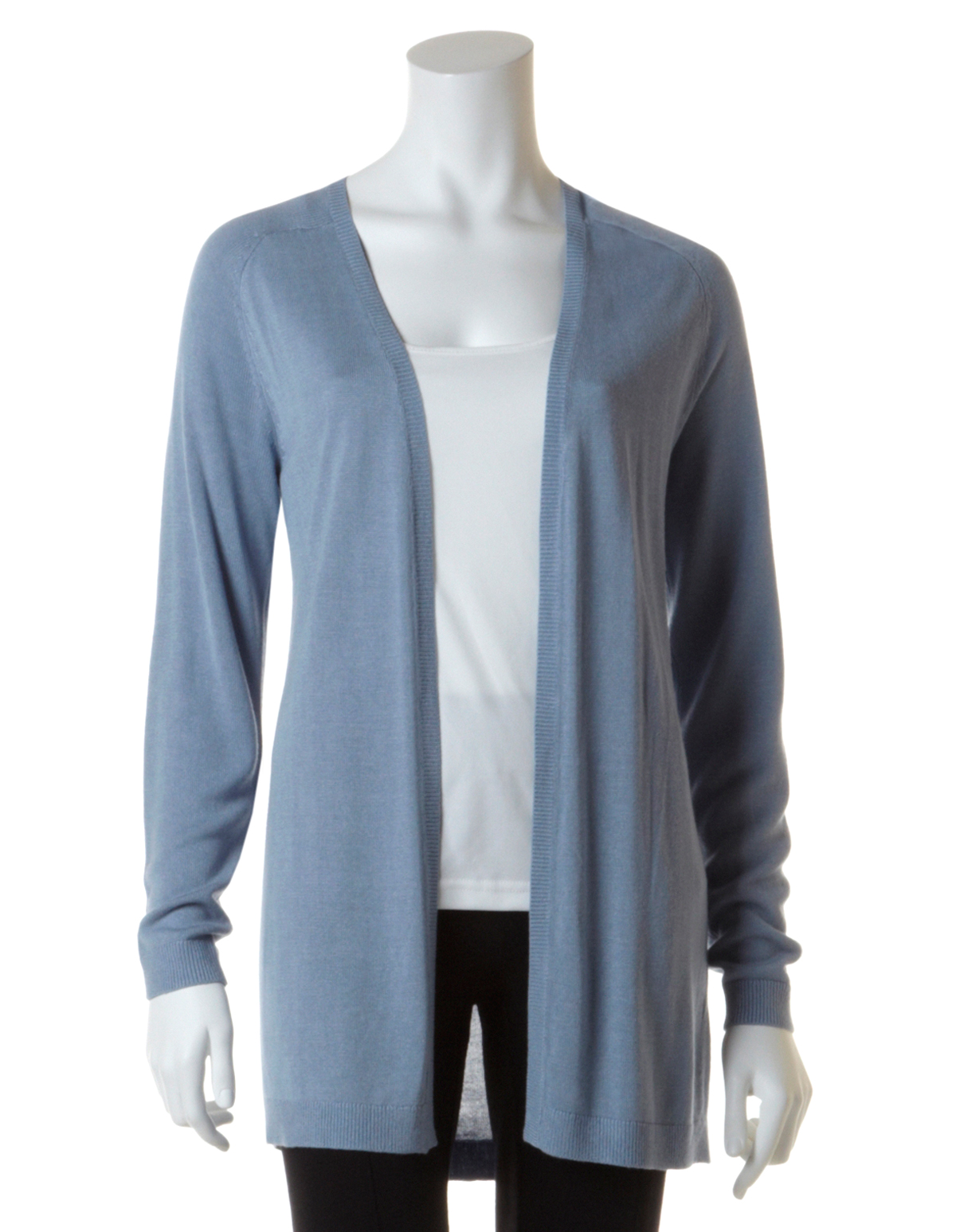 Light Blue Open Front Cardigan | Cleo