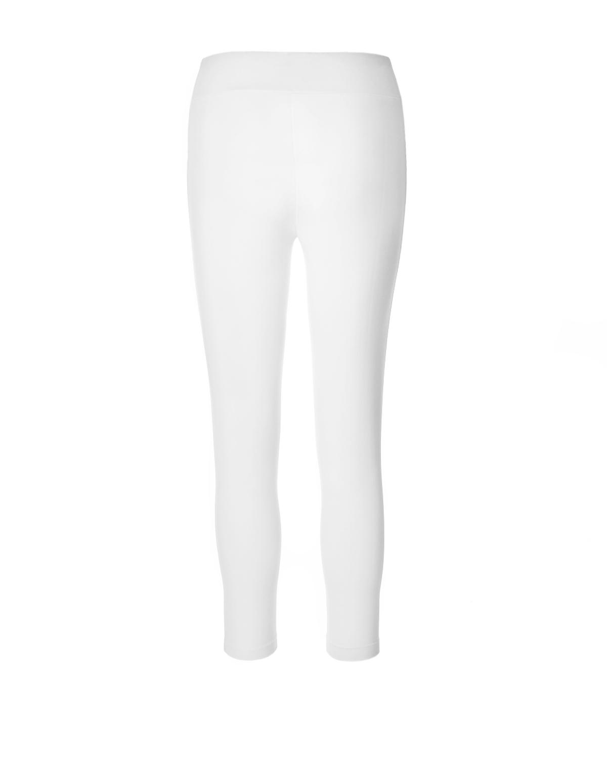 ... White Capri Legging, White, hi-res ... - White Capri Legging Cleo