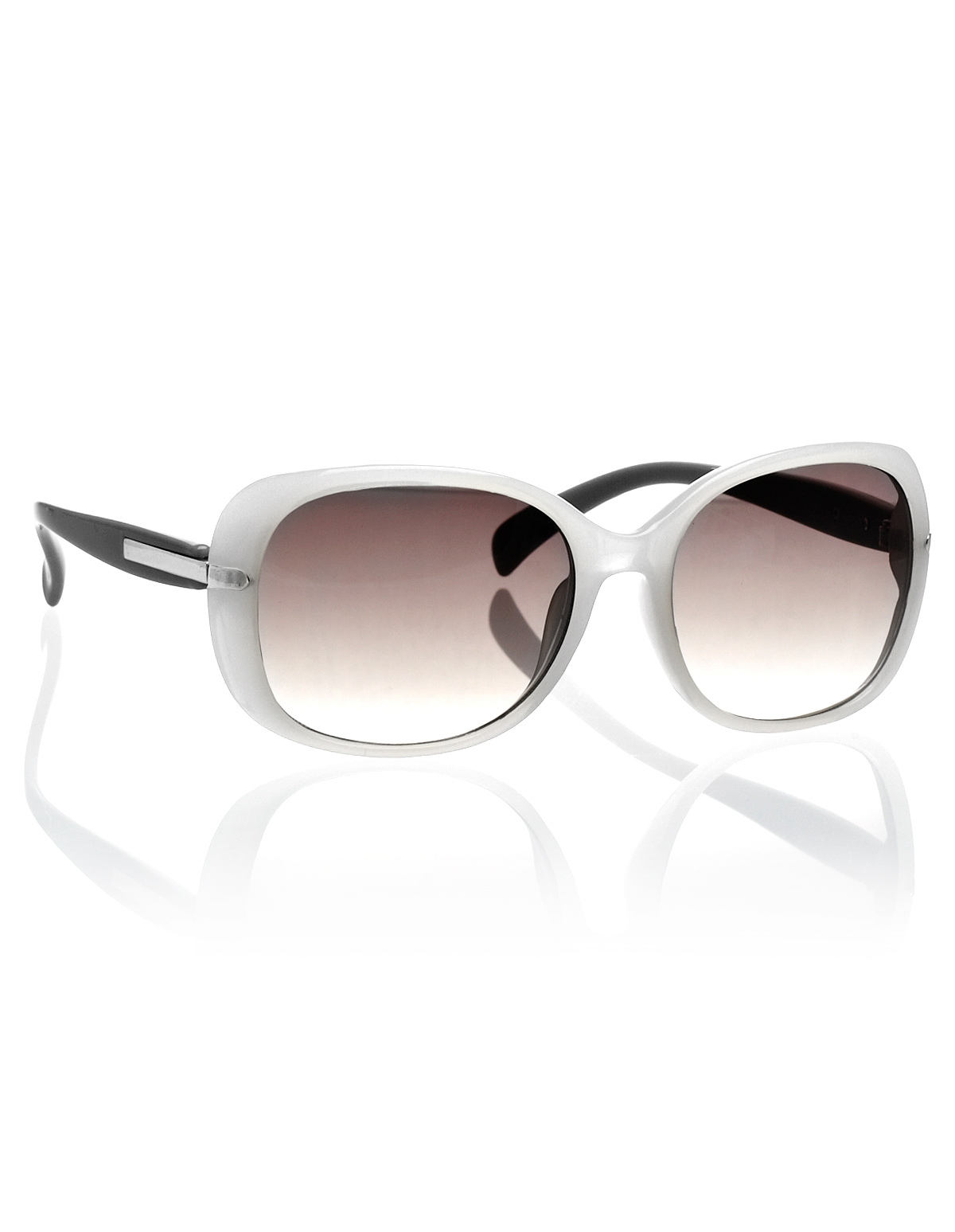 White Frame Sunglasses | Cleo