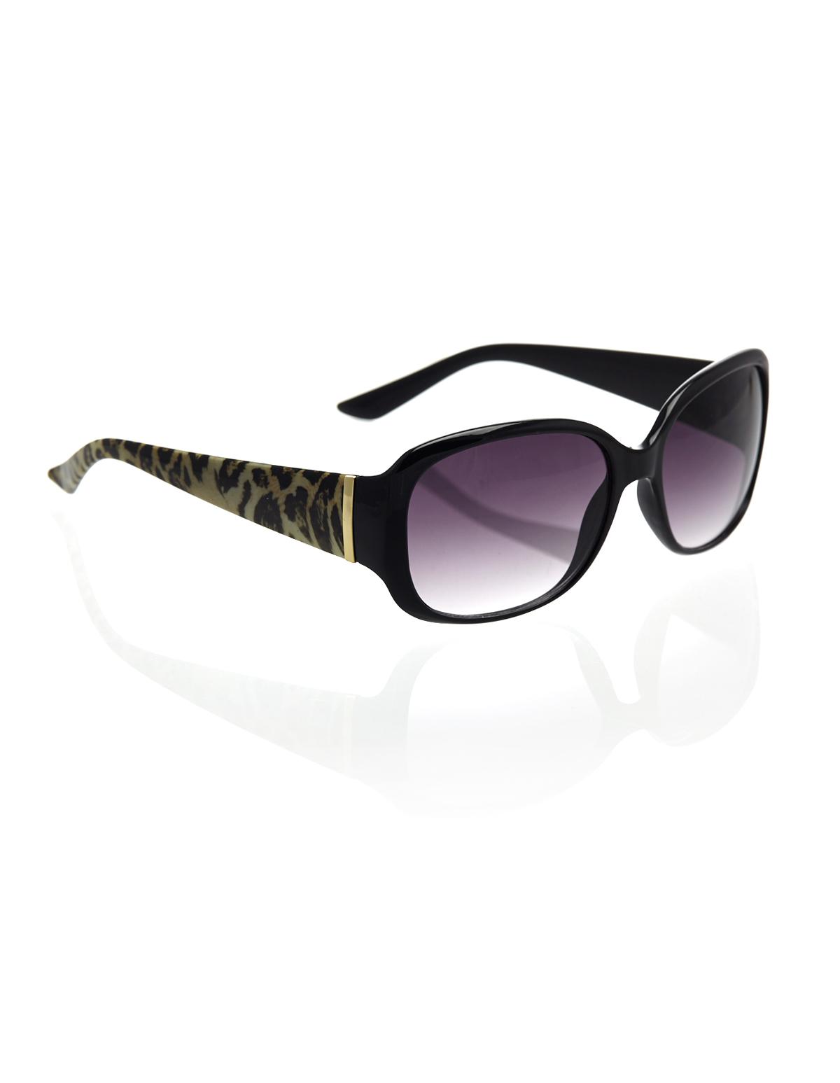Black Small Frame Sunglasses   Cleo