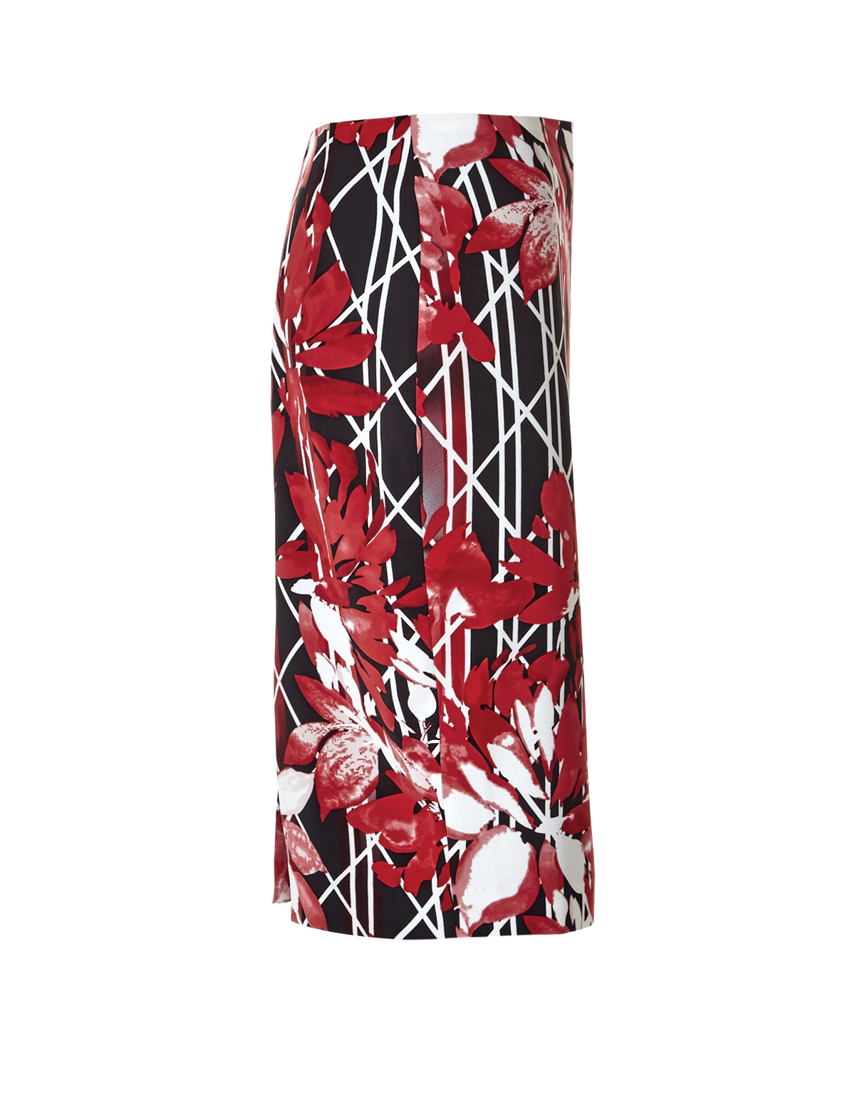 floral printed pencil skirt cleo