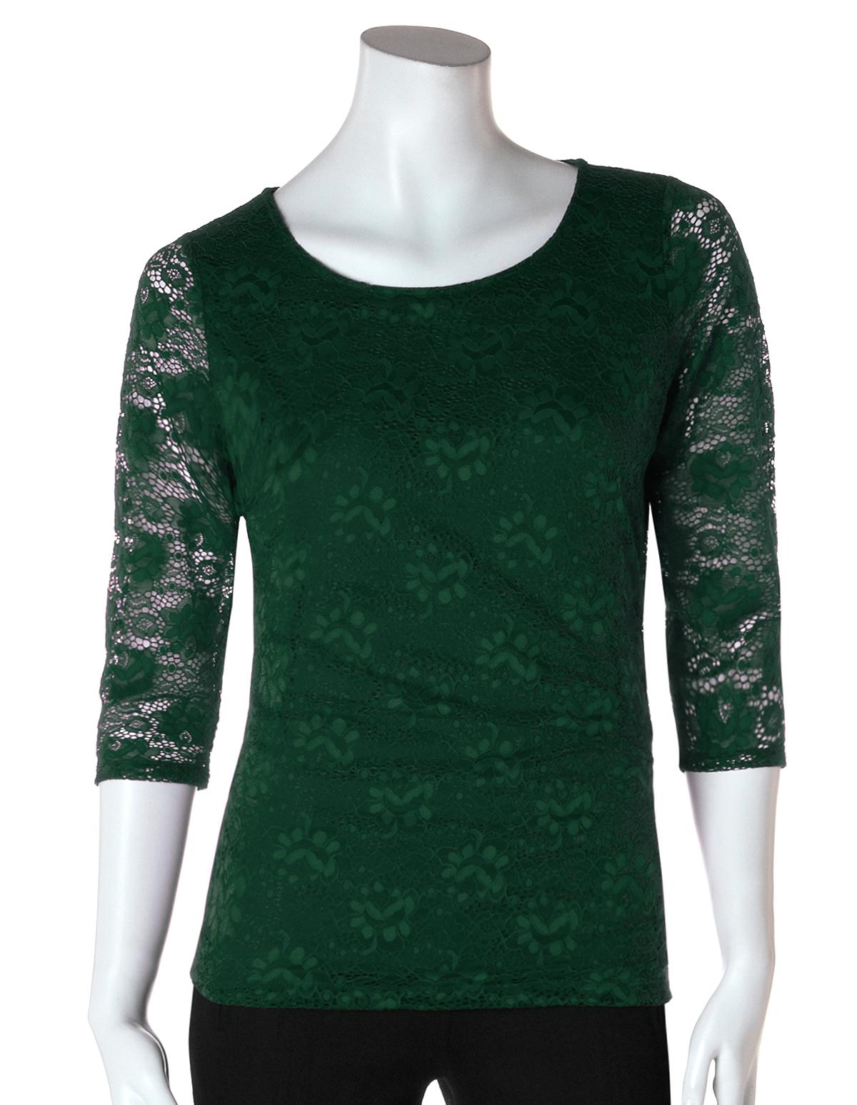 d00184fc608 Floral Lace Top | Cleo