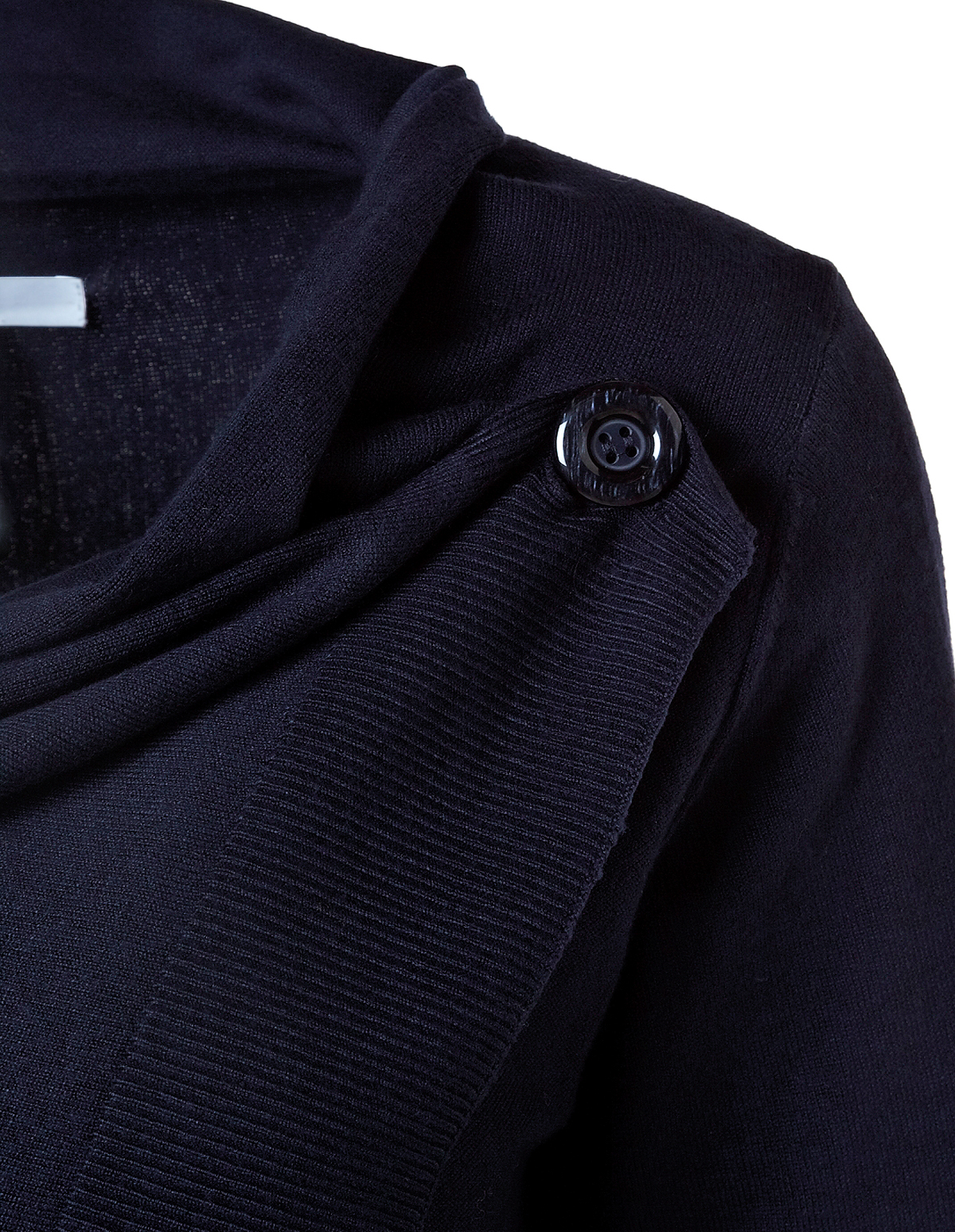 Navy Wrap Sweater | Cleo