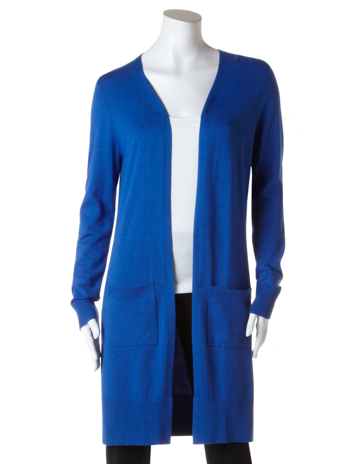 Long Open Front Cardigan   Cleo
