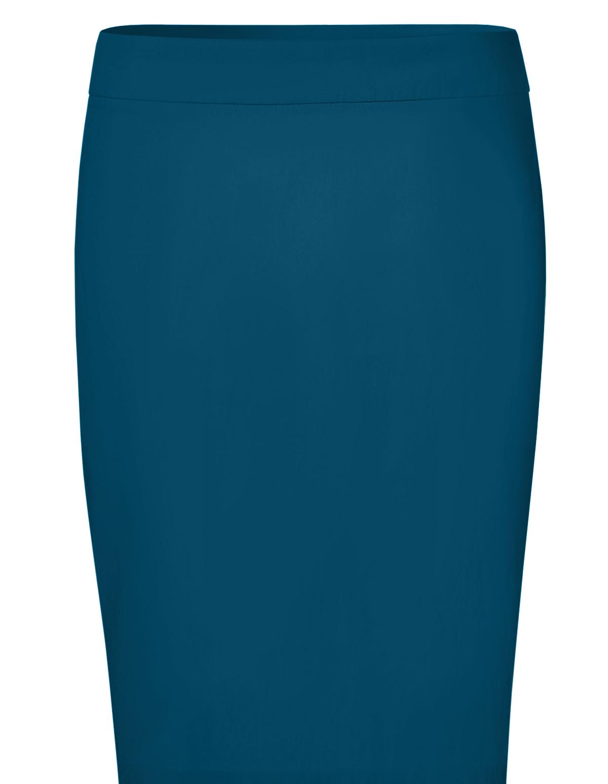 turquoise signature pencil skirt cleo