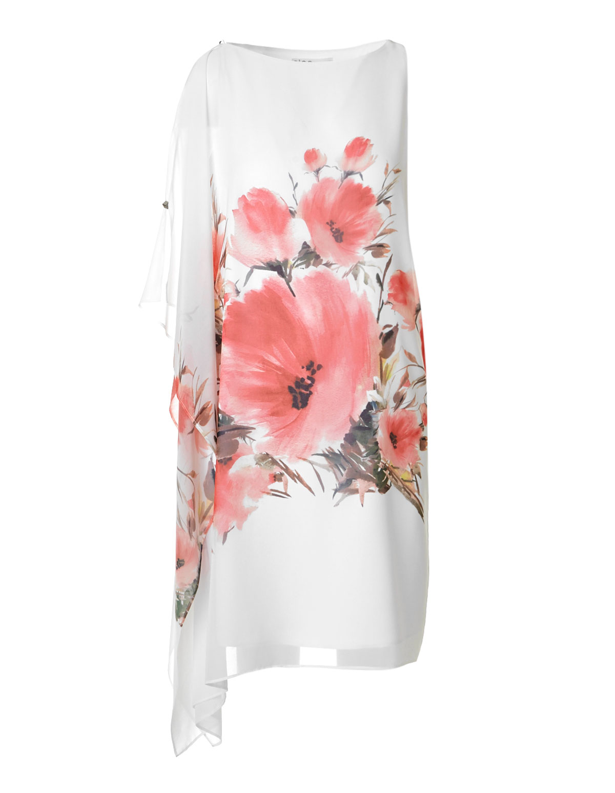White floral one shoulder dress cleo white floral one shoulder dress white hi res izmirmasajfo