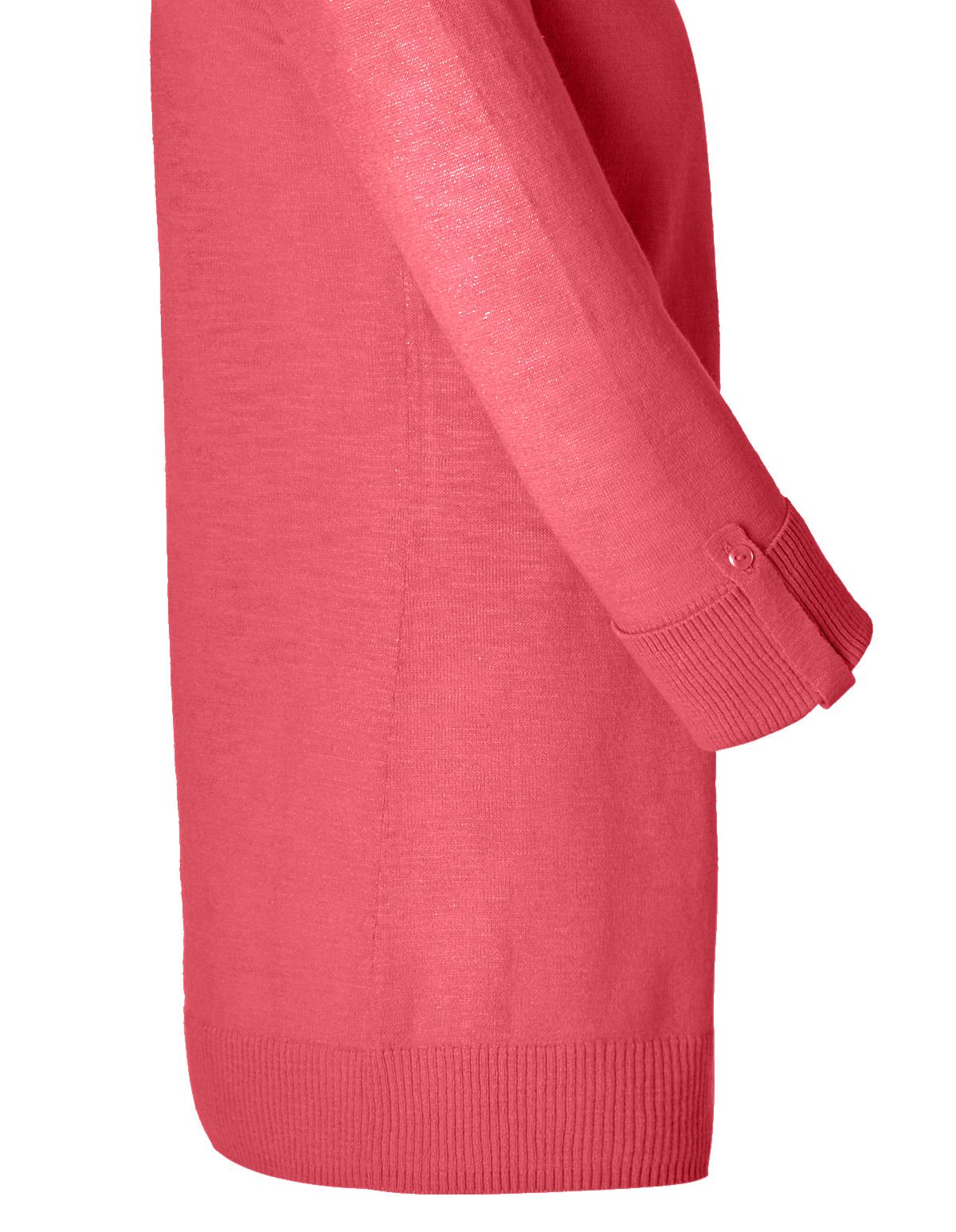 Coral Lightweight Cardigan Sweater | Cleo
