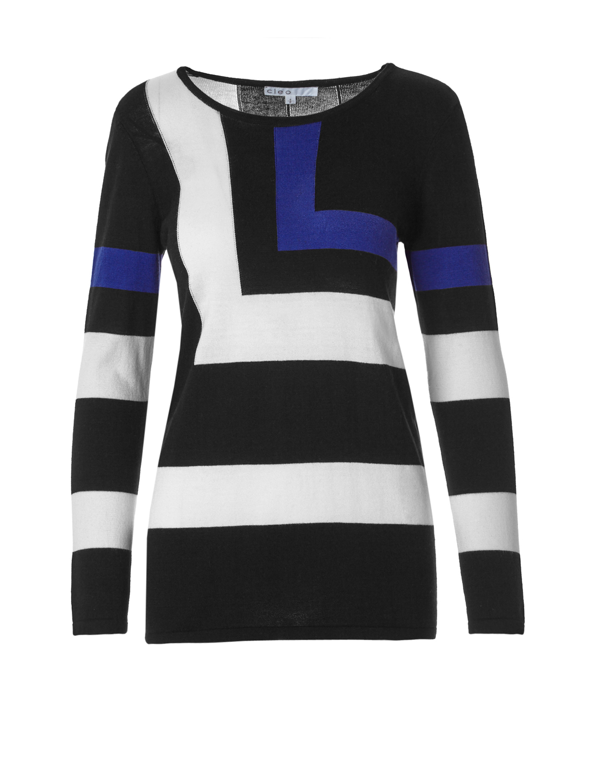 Colour Block Sweater | Cleo