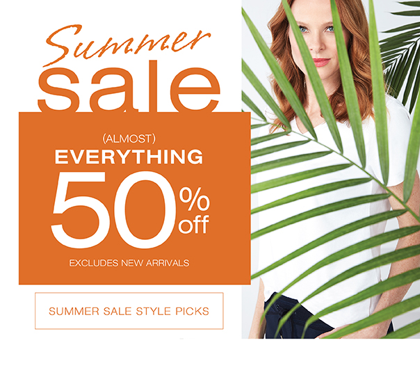 Summer Sale everything 30% off or more. Go to Summer sale style picks