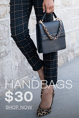 Handbags $30 Shop Now