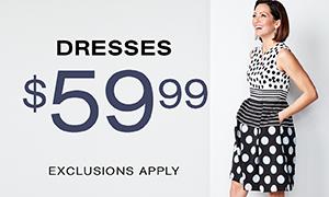 $59.90 DRESSES
