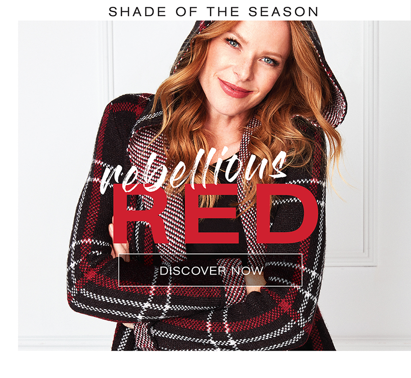 Shade of the season. Rebellious Red
