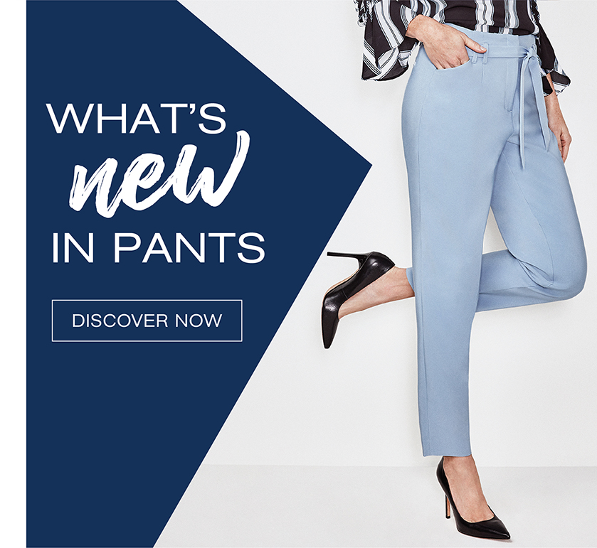 What's New in Pants
