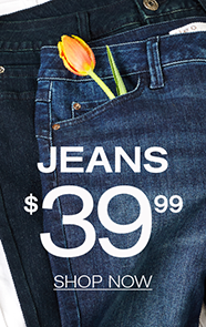 Jeans $39.99