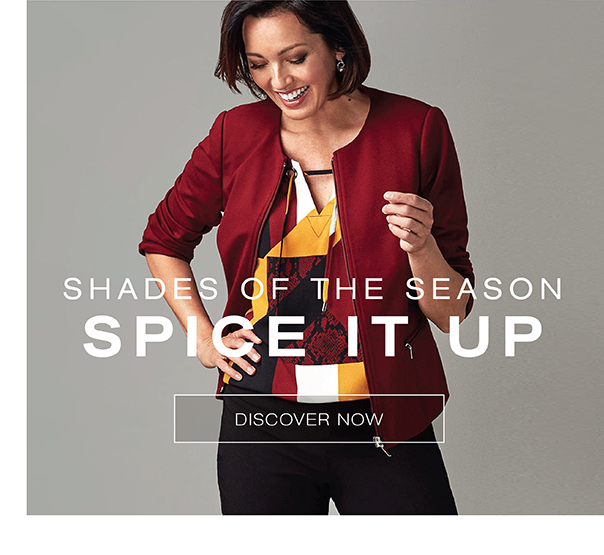 Shades of the season. Spice it up.