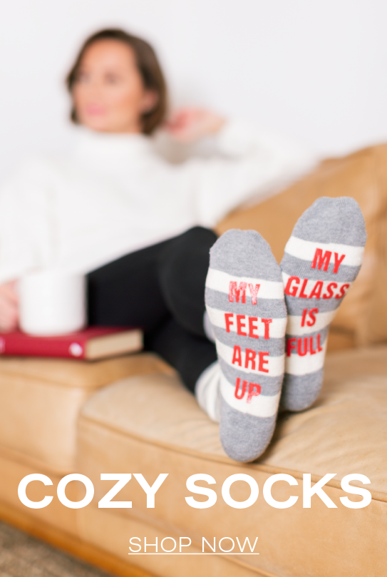 Cozy Socks |  Shop Now