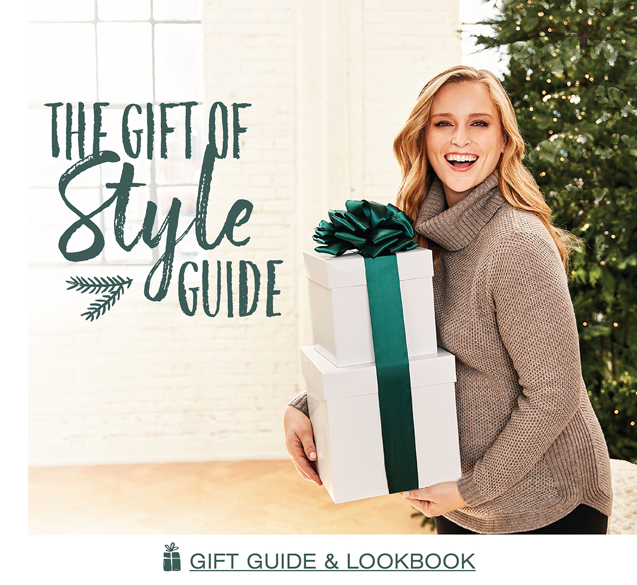The gift of style guide. Gift Guide and Lookbook.